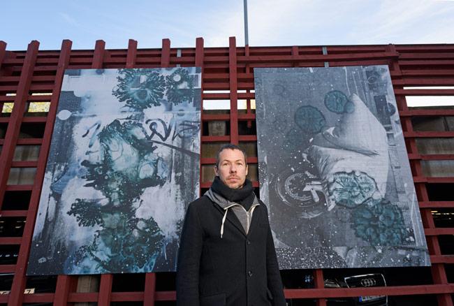 Konstnären Martin Formgren. Foto: Markus Andersson